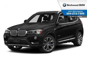 2015 BMW X3 Xdrive28i Navigation! Premium Package Enhanced! Lo