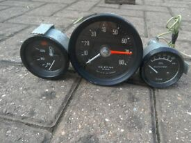 3 Car gauge's. Suit kit car