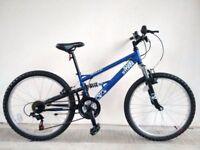 "(2710) 24"" APOLLO SANDSTORM BOYS GIRLS CHILD MOUNTAIN BIKE BICYCLE Age: 8-10, Height: 127-142 cm"