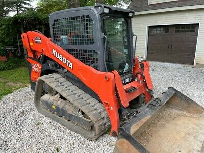 2020 Kubota Svl 75-2 Cab Skid Steer Track Loader With Ac And Heat Quick Attach