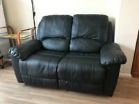 Two Seater Faux Leather Recliner