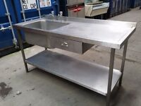 CATERING STAINLESS STEEL SINK