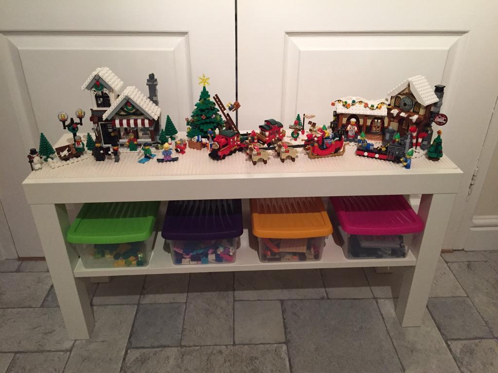 Great Xmas present - Lego themed play bench / table