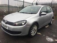 2011 VOLKSWAGEN GOLF 1.6 TDI MATCH 98K MILES FVWSH FULLY REPAIRED CAT D £30 YEARLY TAX LONG MOT ****