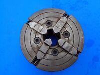Prat Burnerd 4 jaw 6 inch / 15 mm Independent Chuck