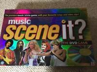 Scene it? Music DVD game