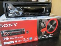 Sony Car Stereo MEX-N6001BD Car CD MP3 USB Player Bluetooth iPod iPhone Android DAB Ready