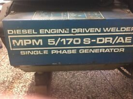 GENSET-Diesel engine driven welder