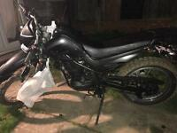 Road legal dirt bike Chinese xgj125 2008 offers accepted