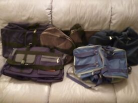 five brand new quality sports/travel/gym etc..bags,very very nice ,selling at bargain price,£15.each