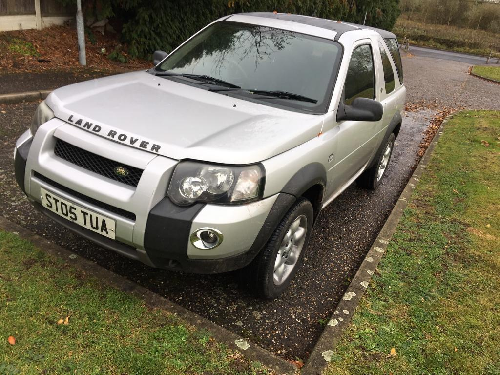 Fantastic Land Rover FREELANDER 2005 only 115,000 miles years mot drives brilliantly only £1050