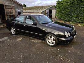 2002 Mercedes E240 2.4 V6 Avantgarde Automatic Mot May 2017 only 103k