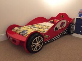 Single car bed frame