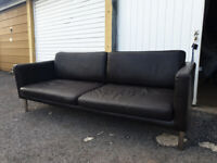 large leather sofa DELIVERED