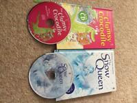 Children's audio book and cd's