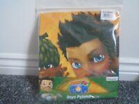 Tree Fu Tom Pyjamas and 2 soft toys- 5-6years