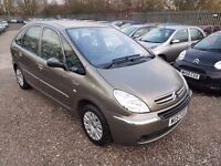 Citroen Xsara Picasso 1.6 HDi Desire 5dr, MOT TILL FEB 18. HPI CLEAR. GREAT FAMILY CAR. P/X WELCOME