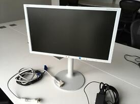 NEC MultiSync EX201W computer screen display monitor
