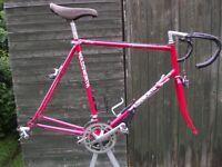 Holdsworth Criterium Reynolds 531 Racing Bike Frame And Components