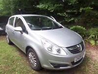 Vauxhall Corsa Life 1.2 2009 Silver Low Insurance - ideal first car
