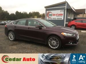 2013 Ford Fusion SE - Navigation - Leather