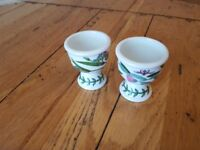 PORTMEIRION EGG CUPS