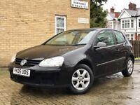VW GOLF 1.4 FSI MANUAL 3 DOOR MET BLACK 112.000 MIL F/VW/SH IMMACULATE