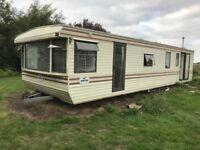 Static caravan for self build