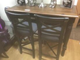 Mark Webster Breakfast Bar and Two Stools
