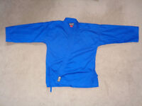 Blue Karate Suit - Size 160 - Nearly New