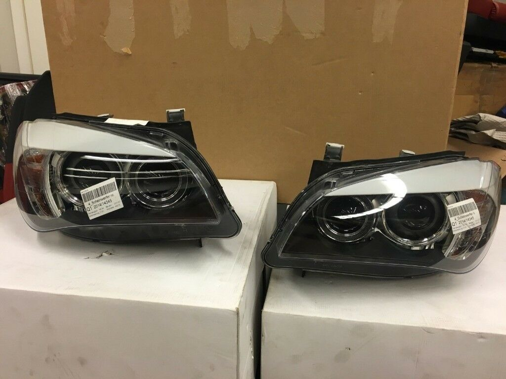 Xenon Headlights AHL for Left hand drive BMW X1 E84 2013 (2009-2015) LHD MOT TUV APK ITV CIT