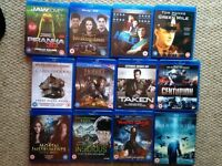 Various BLU RAY DVDS