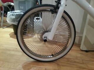 Diamondback BMX with Dayton Chrome Wheels (144 Spokes)
