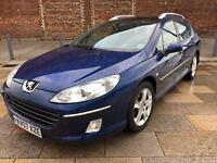2007 PEUGEOT 407 DIESEL ESTATE / ALLOYS / ELECTRIC WINDOWS / CD PLAYER / FULL MOT .