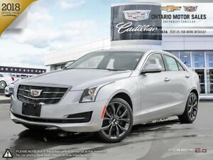 2018 Cadillac ATS $114 Weekly + HST 72 Months @ 0%/ AWD / Pow...