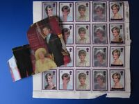 Unused Commemorative Princess Diana Stamps And Queen Mum/Prince Charles