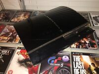 PS3 (Original 60GB) with 22 Games