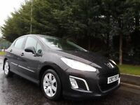 MAY 2011 PEUGEOT 308 ACTIVE 1.6HDI 5SPEED BLACK METALLIC FACELIFT MODEL FULL PEUGEOT SERVICE HISTORY