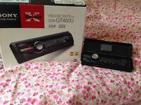 Car CD player inc radio and usb.