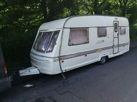 4 Berth Caravan For Sale whit Gas - Shower - toalet fully loaded £999 or swap for a car