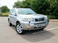 ***CHEAP 2006 NISSAN XTRAIL 2.2 DCi 4WD £1895**SATNAV LEATHER PANROOF Turbo Diesel jeep sve aventura