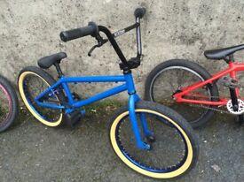 Wethepeople arcade bmx blue custom skatepark bike stunt bicycle