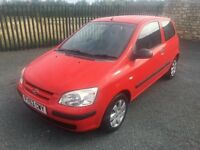 2003 53 HYUNDAI GETZ 1.3 GSI 3 DOOR HATCHBACK - *LOW MILEAGE* - ONLY 1 FORMER KEEPER - CHEAP EXAMPLE