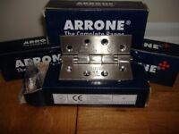 102mm chrome hinges