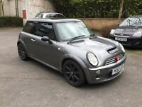 2001 Mini Cooper S uprated intercooler and super charger pulley. Marks on bodywork