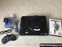 Sega Mega Drive with Game