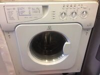 INDESIT BUILT IN WASHER DRYER 6kg FREE DELIVERY AND WARRANTY