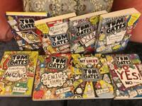 8 TOM GATES BOOKS