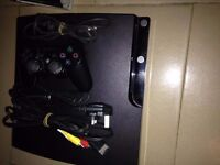 PLAYSTATION 3 WITH X3 PADS 12+ GAMES AND HEAD SET