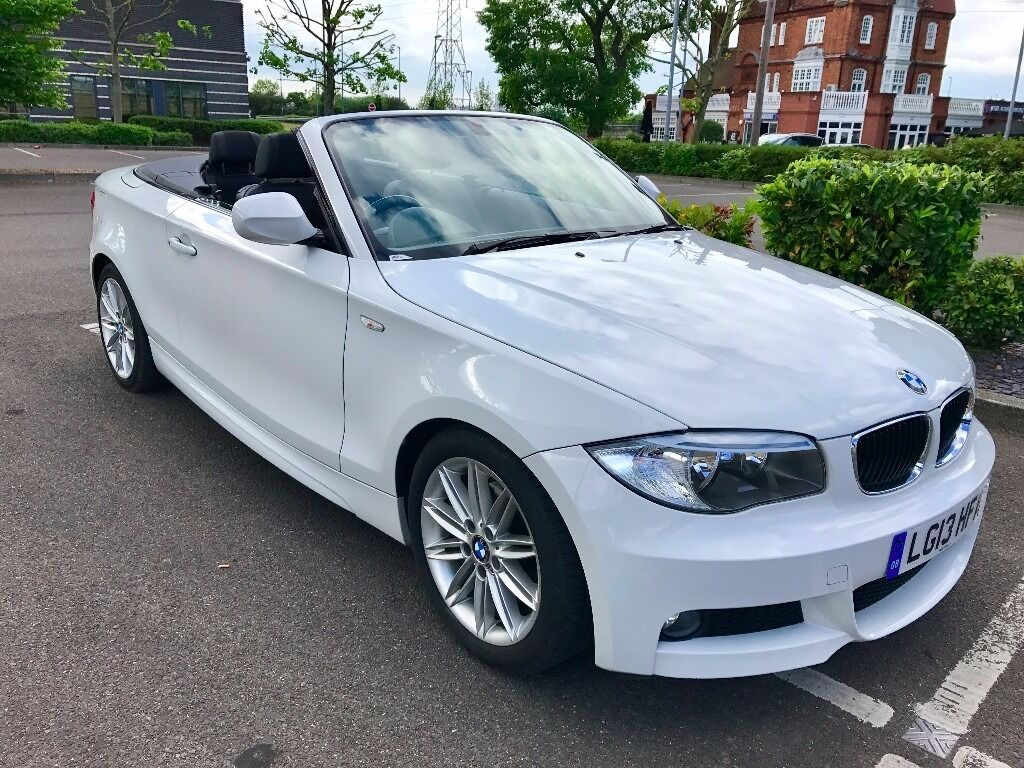 2013 bmw 120d 1 series convertible diesel m sport in newham london gumtree. Black Bedroom Furniture Sets. Home Design Ideas